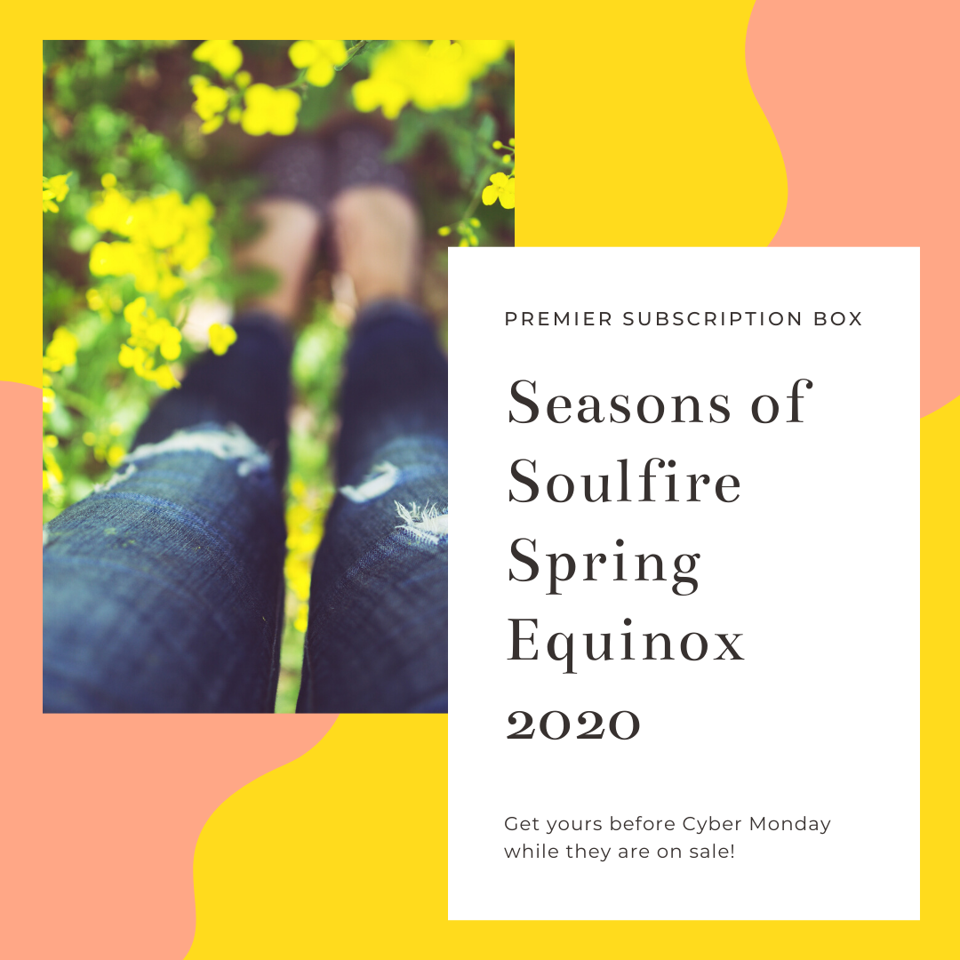 Seasons of Soulfire Spring Equinox Ritual Box